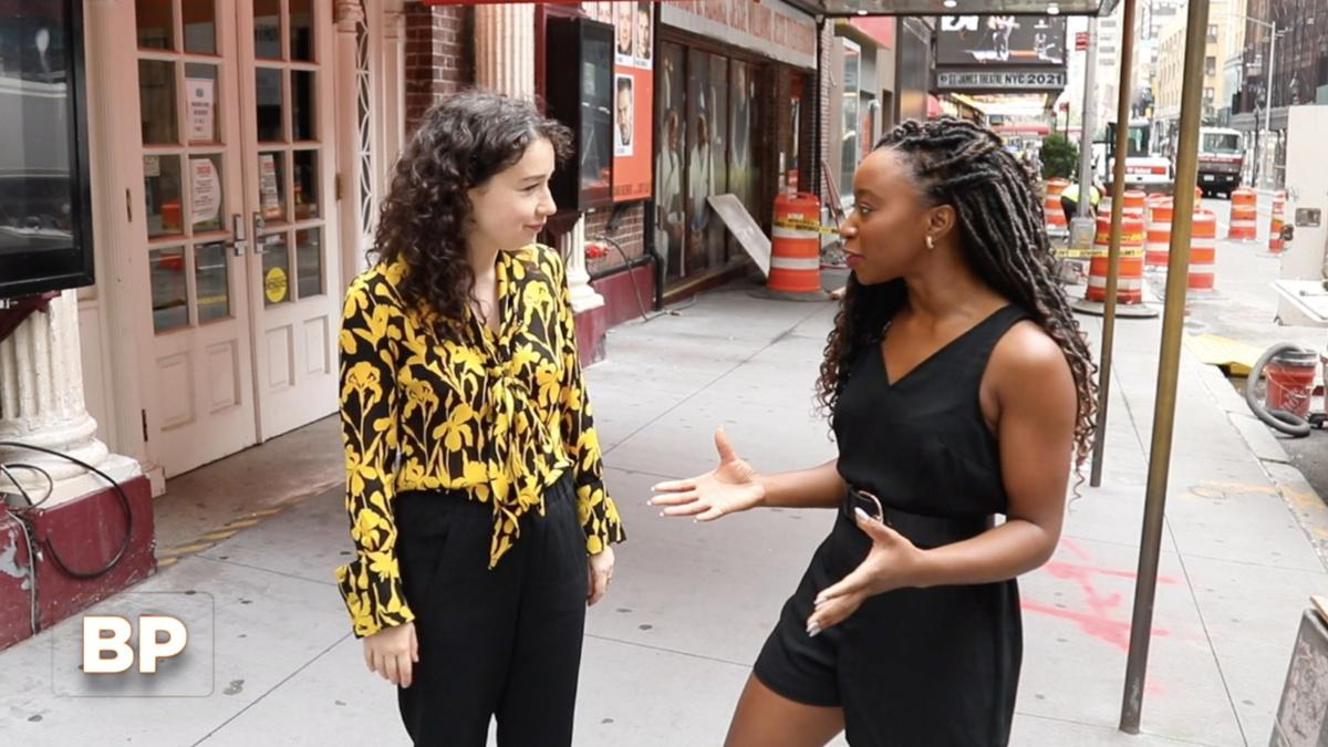 WI - Sarah Steele - Charlie Cooper - Broadway Profiles - 8/21